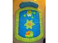 baby bath/highchair /baby tummy-time mat/microwave bottle steriliser/girls costume with stabilizers