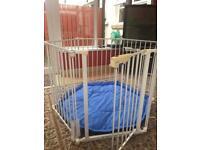 Baby playpen or room divider £60