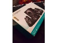 Logitech z506 5.1 Surround Speaker Sound System with 3D Stereo Audio, Fantastic condition with box!