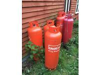 1 Calor 47 kg LPG gas bottle .