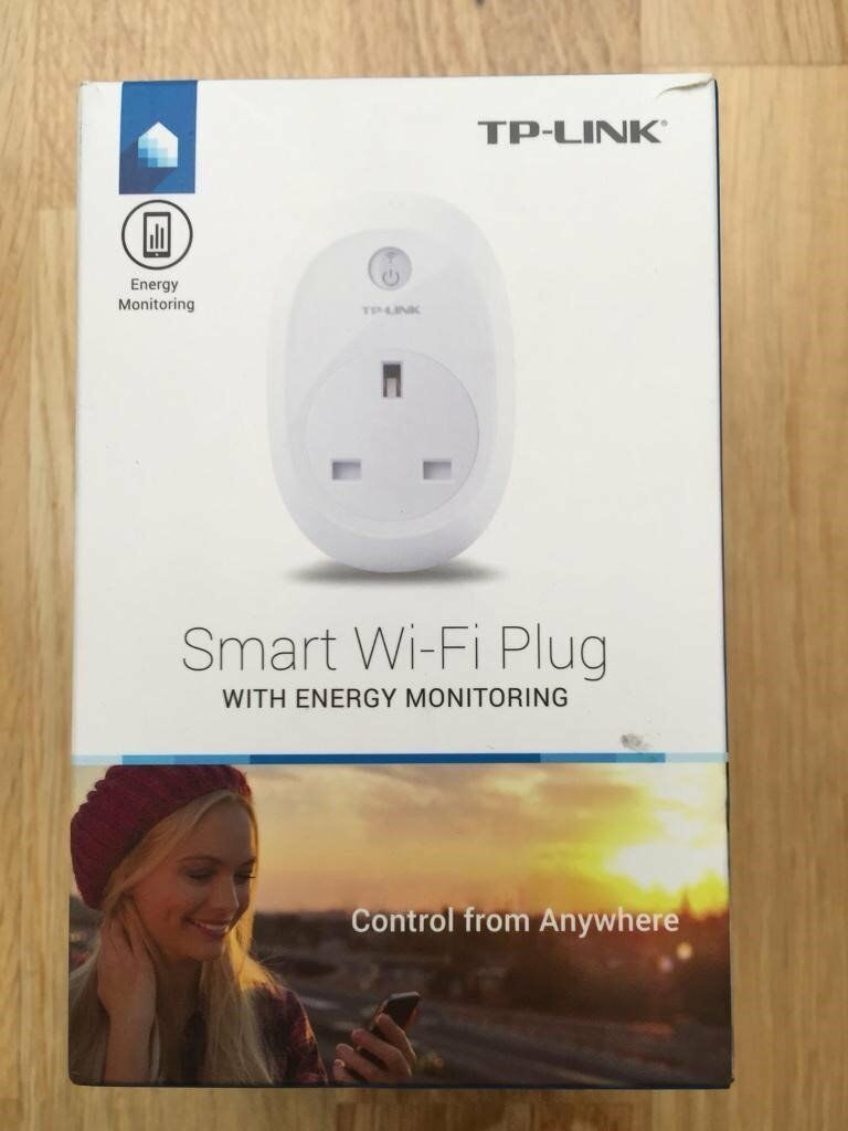 TP-Link HS110 Wi-Fi Smart Plug With Energy Monitoring - works with alexa and google home