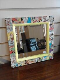 MIRROR. with comic characters