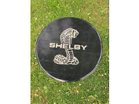 Shelby Cobra oak coffee table