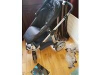 I candy pram and push chair