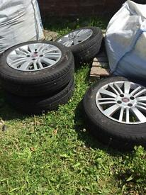 15inch 4x100 wheels and tyres