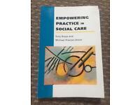 Empowering practice in social work, Suzy Braye