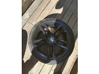 Genuine Bmw 18 inch 461M staggered alloys alloy wheels and tyres