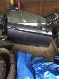2009 Fiesta drivers door complete grey