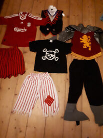 Big selection of dress up things for 3-8 year boys and girls