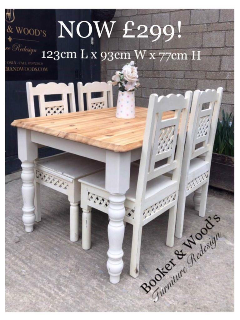 Sale Price Farmhouse Table Chairs In Stroud Gloucestershire