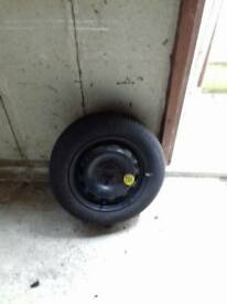 Space saver wheel