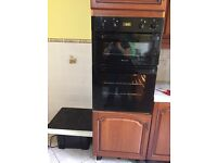 Hotpoint electric built in double oven