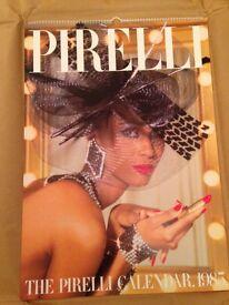 Pirelli 1985 vintage calender UNIQUE