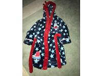 Boys dressing gown, size 1.5-2 years