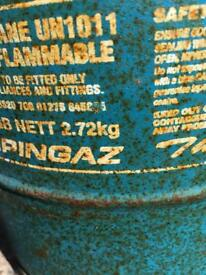 camping gas cylinder and valve FREE