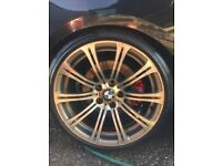 Genuine E92 alloy wheels
