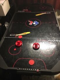 6ft electric air hockey table working