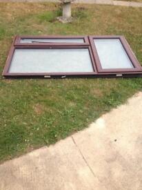 Upvc double glazed window 1760 mm X 1035.
