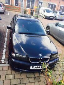 BMW 3 Series Black M Sport Excellent Condition