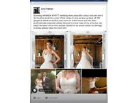 DESIGNER AMANDA WYATT WEDDING DRESS