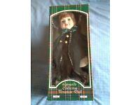 "Leonardo collection 17"" porcelain doll ""Maggie"""