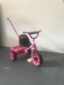 Love Bug Pink Three Wheeled Tricylce Ideal Christmas Present