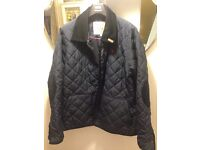 BNWT Jack Will's Navy Quilted Jacket. Size: Small