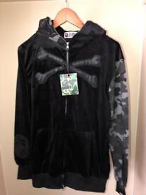 Men's Velvet Mastermind X Bape Jacket Large