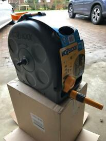 Hozelock Compact Enclosed 2 in 1 Hose Reel 25m BRAND NEW UNUSED