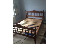 Pines double bed frame