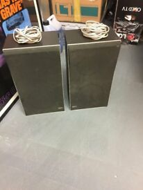 Bang & olufsen beovox x25 speakers