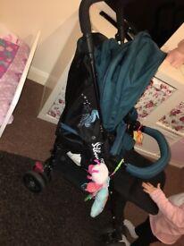 Silver cross pop star stroller