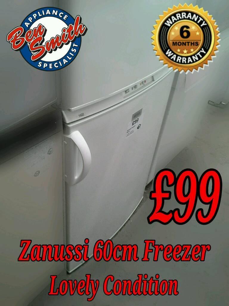 Zanussi 60cm Freezer White