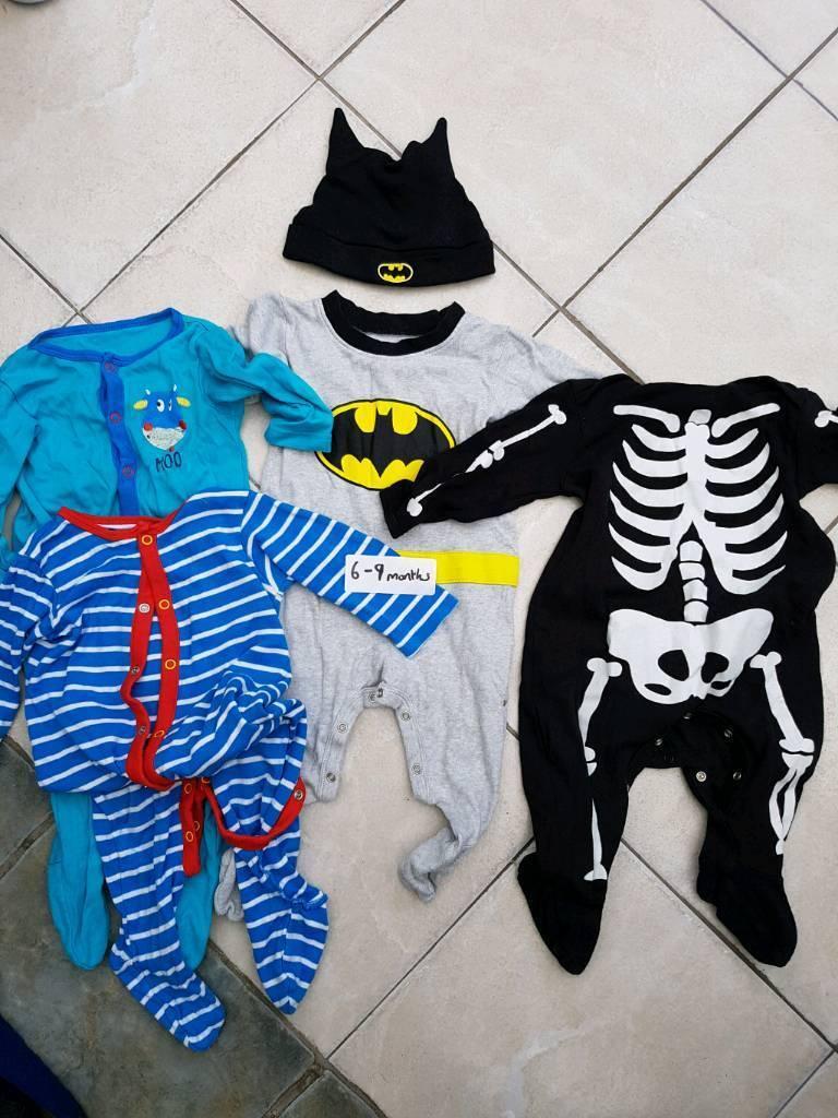 Halloween, batman 6-9 months