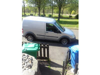 ford transit connect van, one years mot