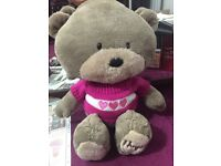 Teddy bear soft toys cuddle excellent condition large teddy children's baby's soft toys cheap