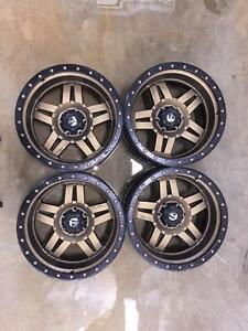 Used F-150 Rims: Set of (4) Fuel ANZA (BRONZE) | 20x9 | D58320908950