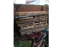 Large and small pallets for sale