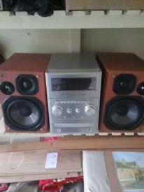 Panasonic CD tape radio mp3 hifi