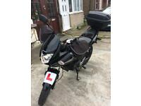 Honda Cbf 125. 2011 with engine upgrade 2016 only 3 thousand miles.on the meeter it's 23000
