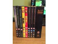 DVD film collections job lot