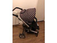 BeepTwist baby start travel system