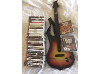 33 PS3 games and guitar hero bundle.