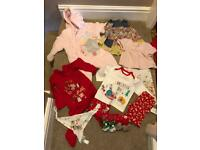 Bundle girls clothes 6-9m