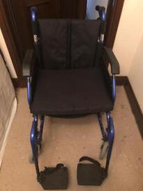 """Wheelchair lightweight 20"""" seat"""