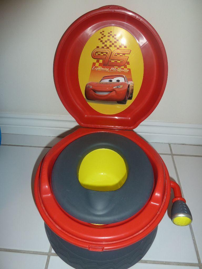 cars potty chair