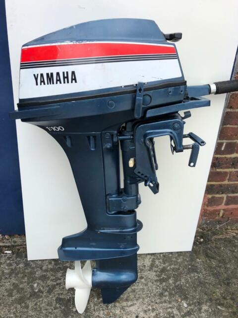 Yamaha 15Hp Outboard Engine 2 Stroke Short Shaft  London | in Southwark,  London | Gumtree