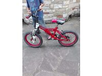 Raleigh Race MX-16 for young kids