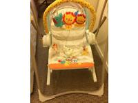 Baby musical swing chair