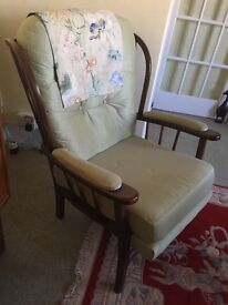 Vintage Armchair Retro Furniture Traditional